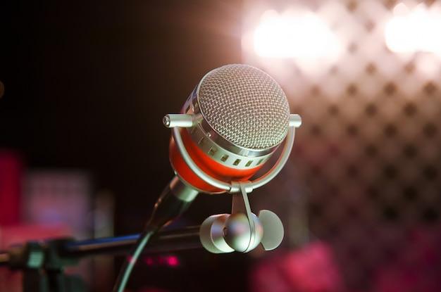 Microphone Premium Photo