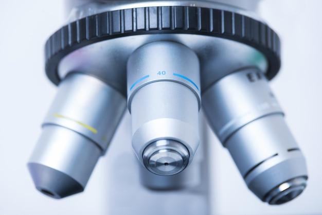 Microscope close-up photo Premium Photo