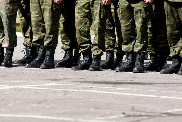 Military feet Free Photo