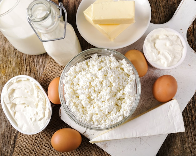 Milk products, dairy, dairy Free Photo