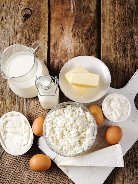 Молочные продукты, молочные продукты Бесплатные Фотографии