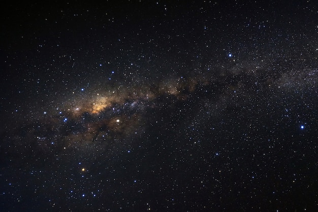 Milky way galaxy with stars and space dust in the universe Premium Photo