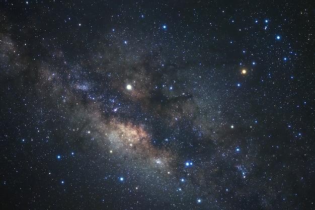 Milky way galaxy with stars Premium Photo