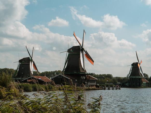 アムステルダムの工場 Premium写真