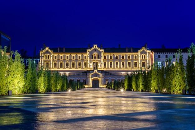 Mimi Castle At Night Photo Premium Download