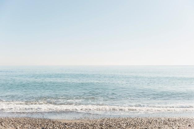 Mindfulness concept with seaside landscape Premium Photo