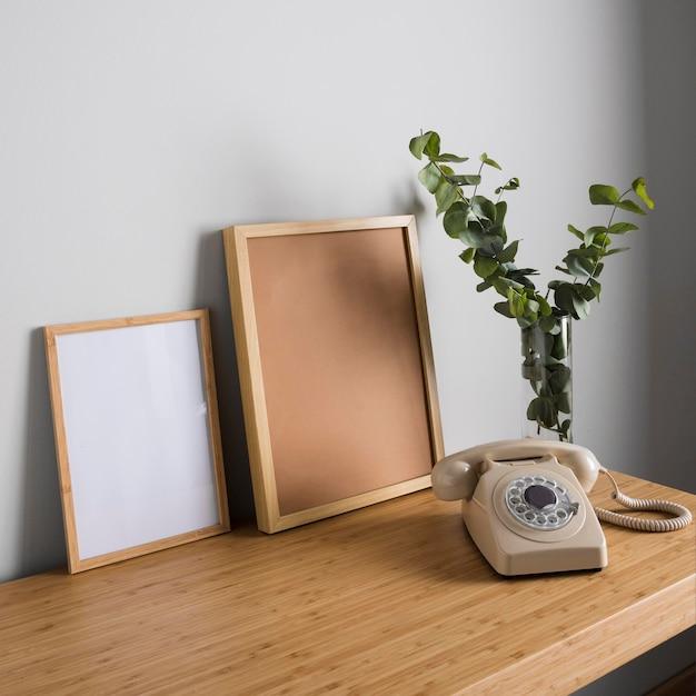 Минимальный дизайн интерьера Premium Фотографии