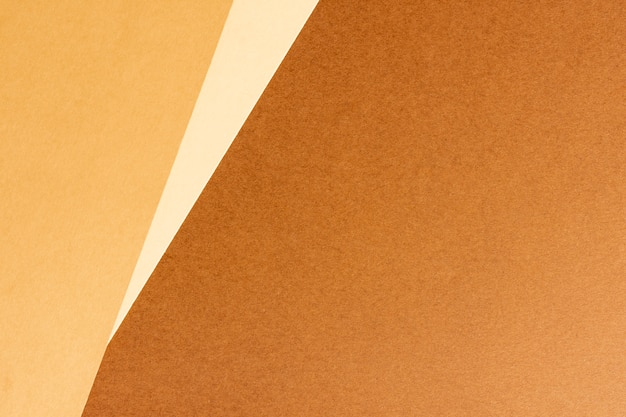 Minimalist blank brown cardboard sheets with copy space Free Photo