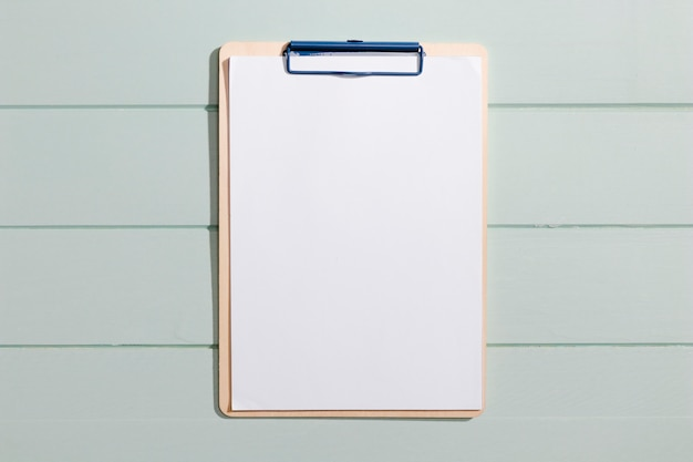 Minimalist copy space clipboard top view Free Photo