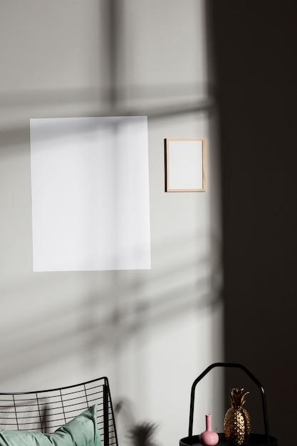Interior design minimalista Foto Gratuite