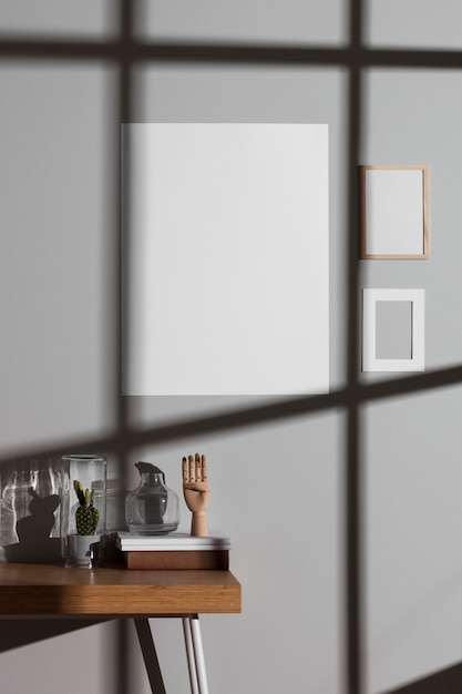 Minimalist interior design Premium Photo