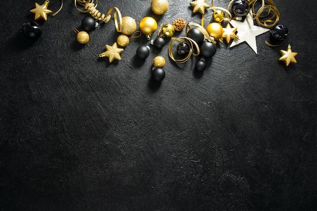 최소한의 크리스마스 플랫 누워 프리미엄 사진