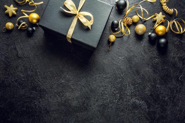Minimalistic christmas flat lay Premium Photo