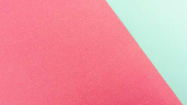Mint green and pink paper sheets Free Photo