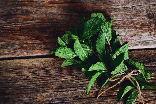 Mint on the table Free Photo