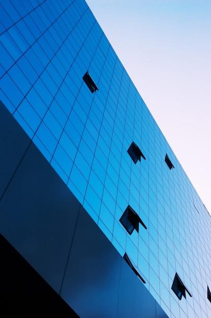 Mirror fasade Premium Photo