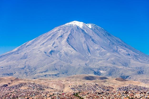 Misti volcano Premium Photo