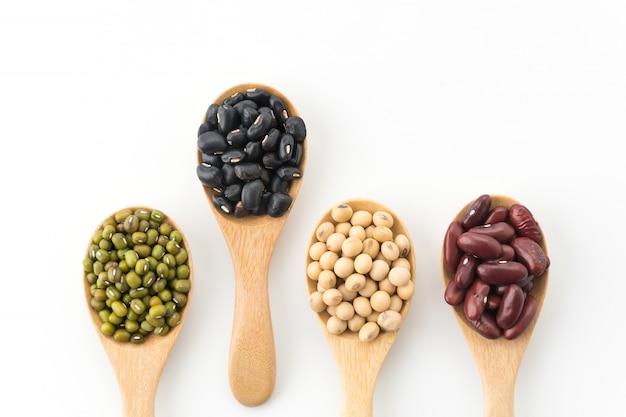 Mix beans Free Photo