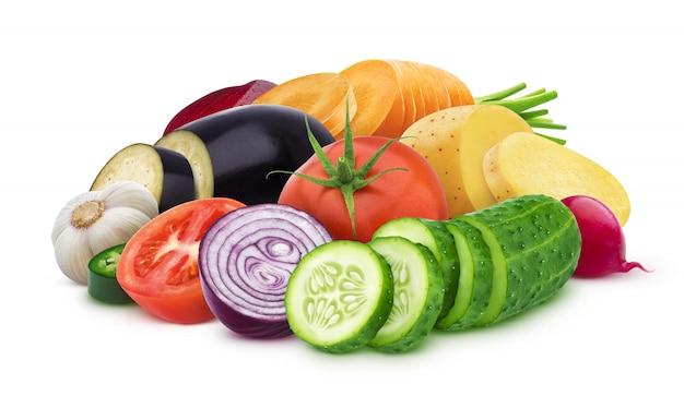 Mix of different vegetables Premium Photo