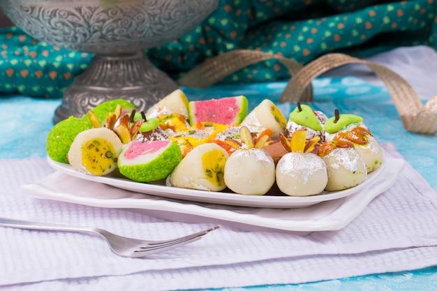 Mix sweet food Premium Photo