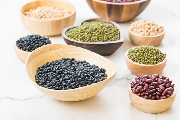 Mixed beans Free Photo