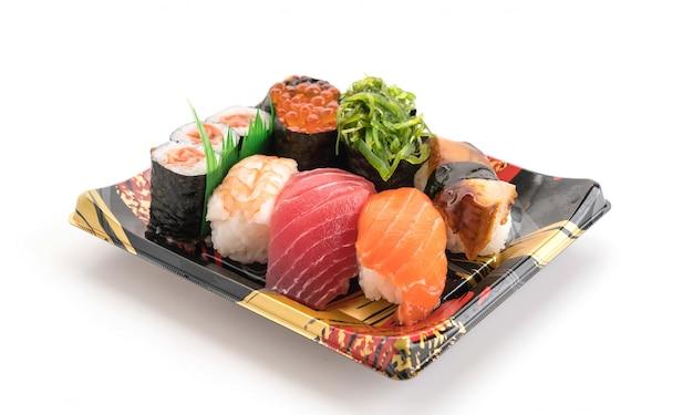 혼합 초밥 세트-일본 음식 무료 사진