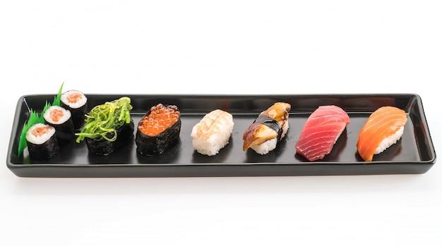 Mixed sushi set - japanese food Free Photo