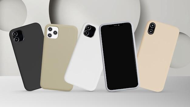 휴대폰 케이스 모형 제품 쇼케이스 무료 사진