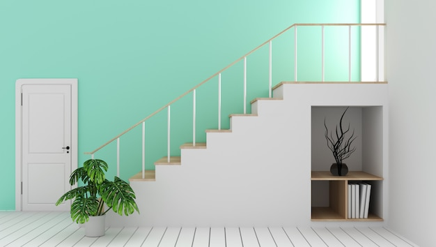 decorative indoor stair railings decorative indoor stair.htm mock up mint empty room with staircase and decoration modern zen  mock up mint empty room with staircase