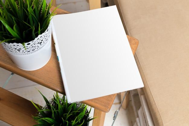 Mock up, photo paper, white sheet Premium Photo