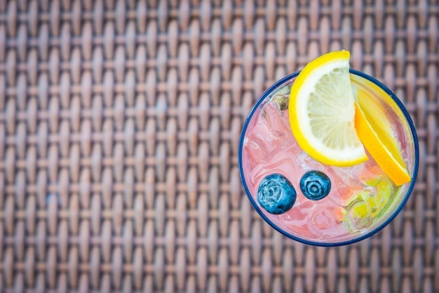 Mocktail drink passionfruit sour bright Free Photo