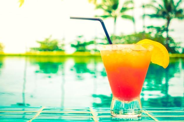 Mocktails glass Free Photo