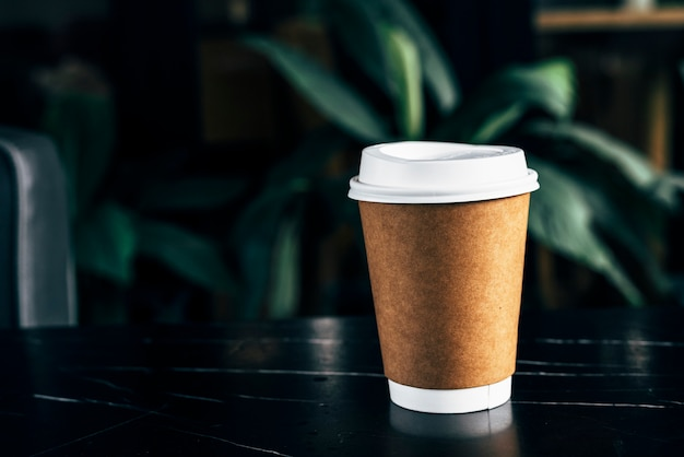 Mockup of a disposable coffee cup Free Photo