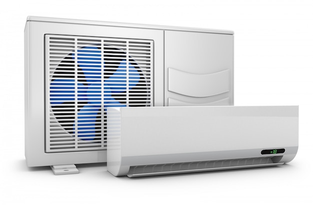 Modern air conditioning Premium Photo