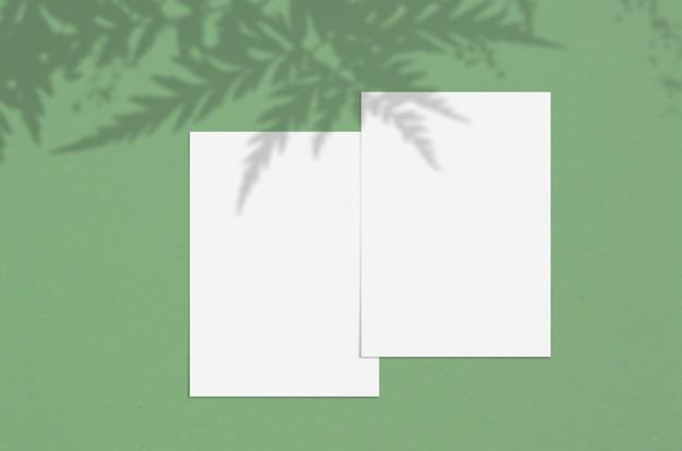 현대적이고 세련된 인사말 카드 또는 청첩장 프리미엄 사진