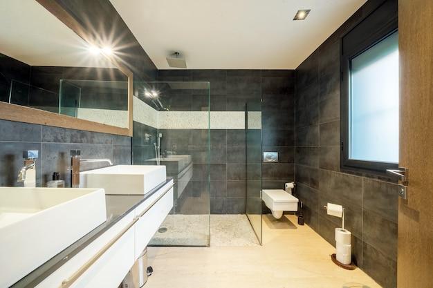 Premium Photo Modern Apartment Bathroom
