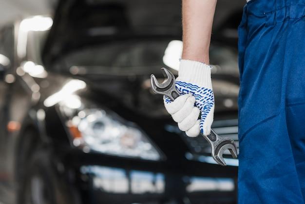 現代の自動車整備計画 Premium写真