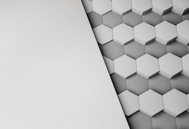 기하학적 형태와 현대적인 배경 무료 사진
