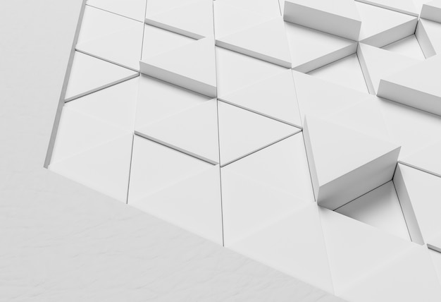 Sfondo moderno con forme bianche Foto Gratuite