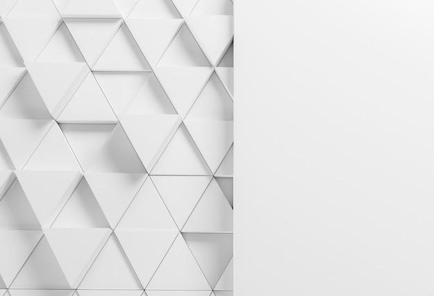 흰색 삼각형 현대 배경 무료 사진