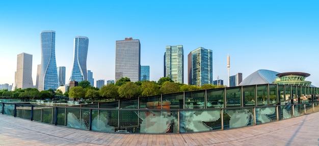 Modern building cityscape Premium Photo