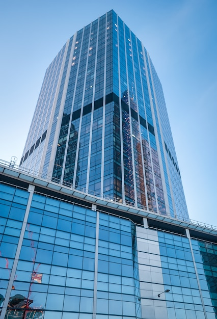 Modern buildings in the hearth of london city. Premium Photo