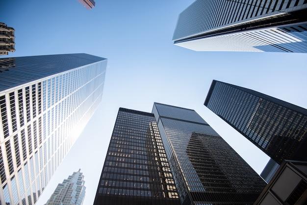 Modern buildings in toronto city Premium Photo