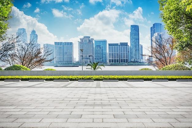 Modern business center Free Photo
