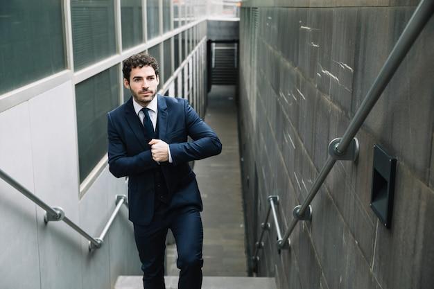 Modern businessman in urban environment Free Photo