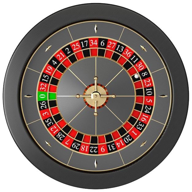 Modern casino roulette Premium Photo
