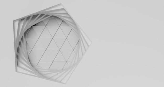 コピースペースとモダンな幾何学的背景 無料写真