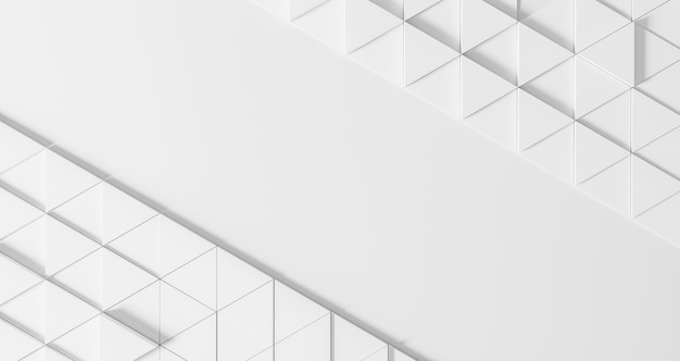 Modern geometrical background with white triangles Free Photo