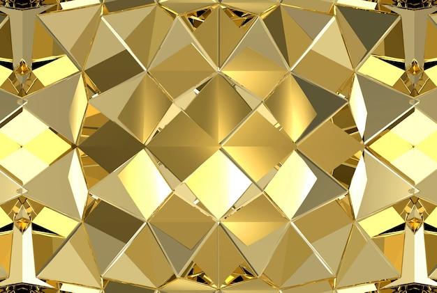 Golden Wall Texture Design