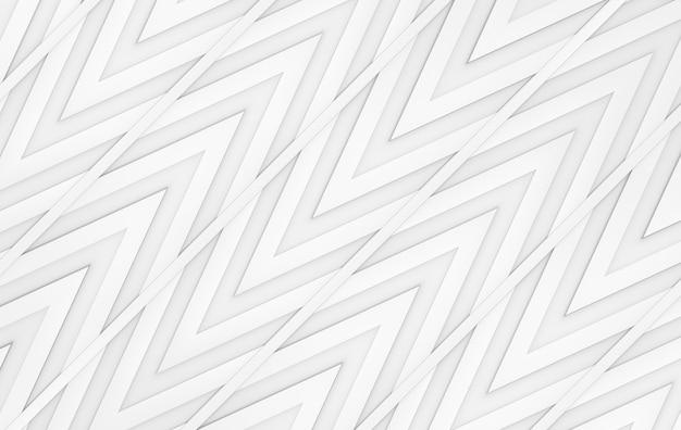 Modern gray triangle zig zag pattern wall design background. Premium Photo